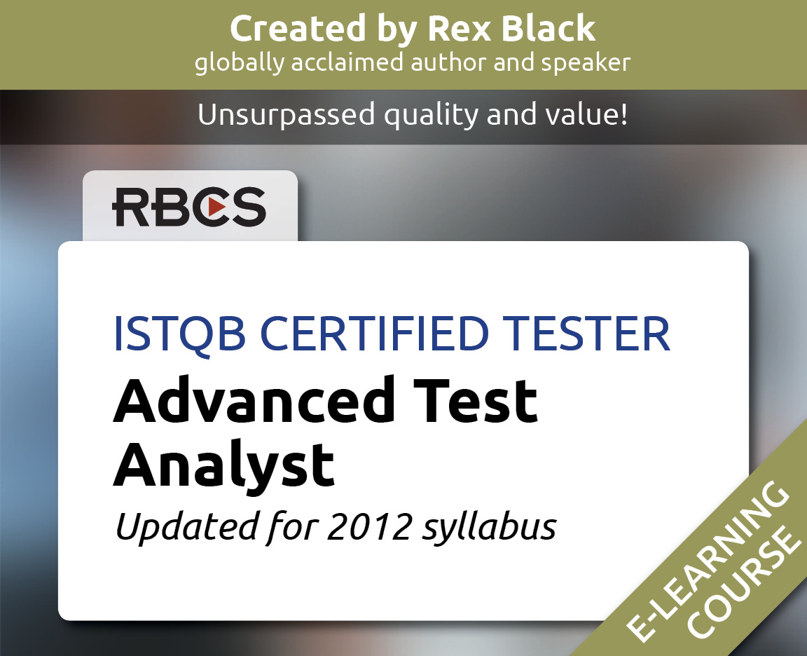 Rbcs software testing training consulting resources 1betcityfo Image collections